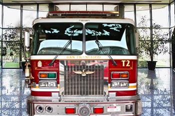 Fire-Truck-In-Lobby