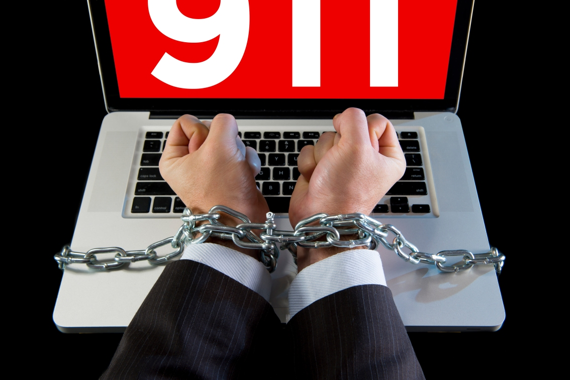 Ransomware – Holding 911Hostage