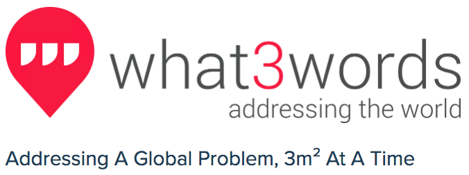 Provide your Location with Only 3Words